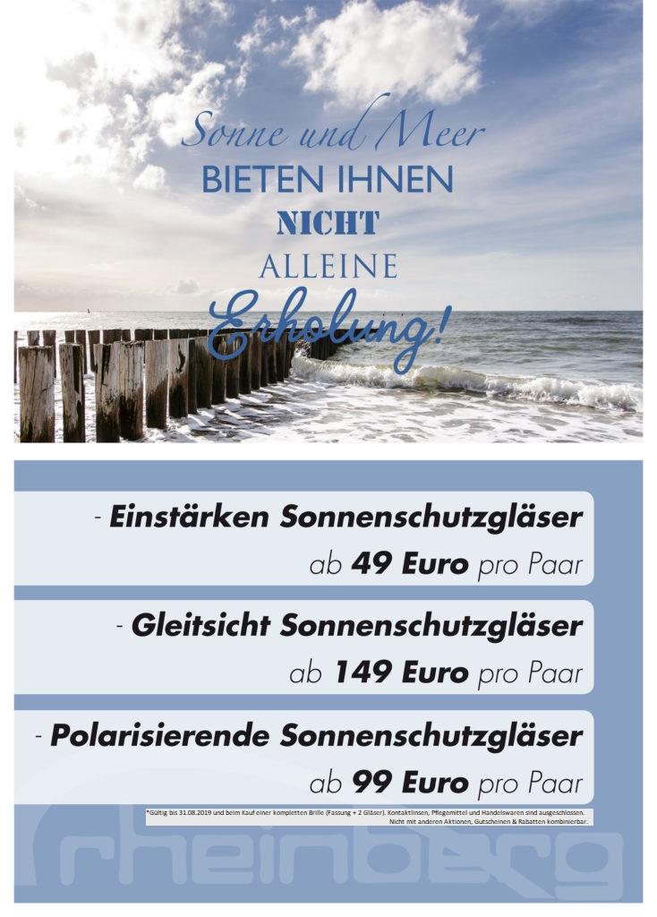 Sonnenschutzgläser bei Rheinberg